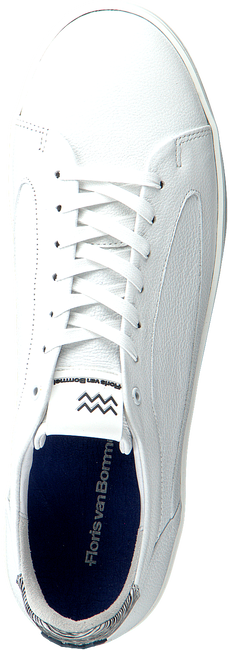 Witte FLORIS VAN BOMMEL Lage sneakers 13265  - large