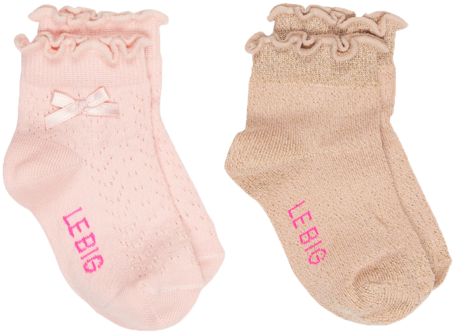 Roze LE BIG Sokken MIA SOCK  - large