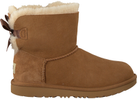 Cognac UGG Enkelboots MINI BAILEY BOW II KIDS - medium