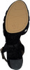 Zwarte UNISA Sandalen VECEA  - small