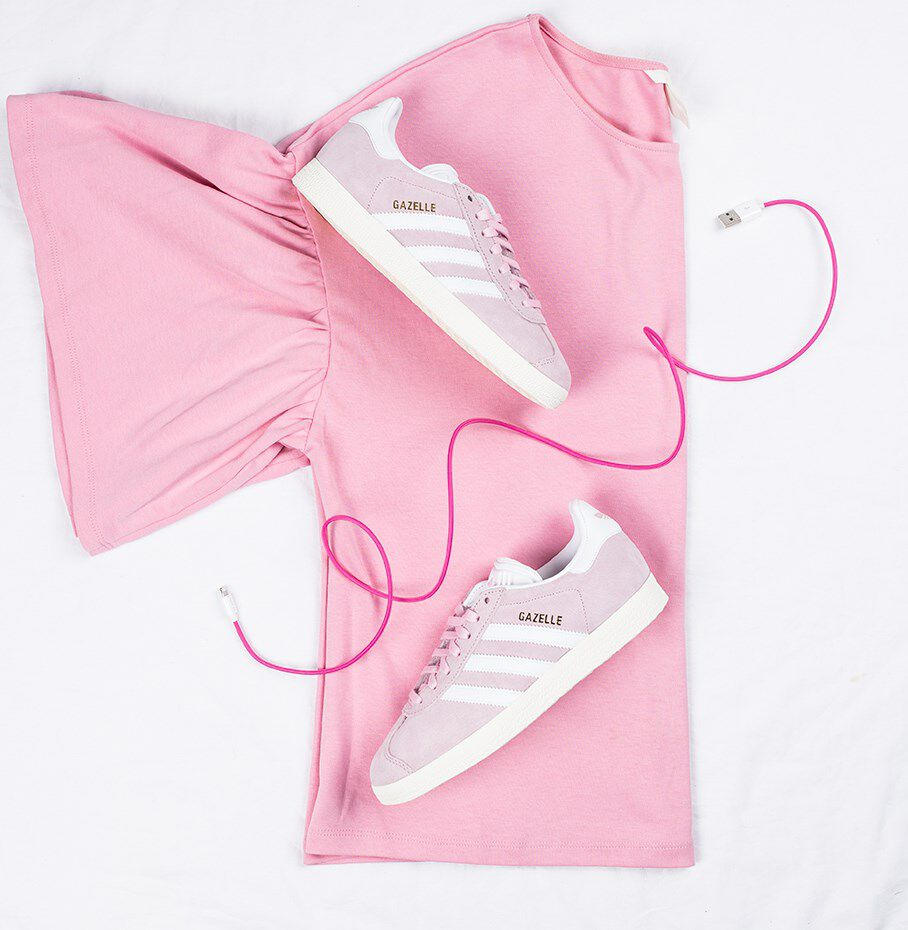 Roze ADIDAS Sneakers GAZELLE DAMES Omoda.be