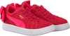 roze PUMA Sneakers SUEDE BOW AC PS/INF  - small