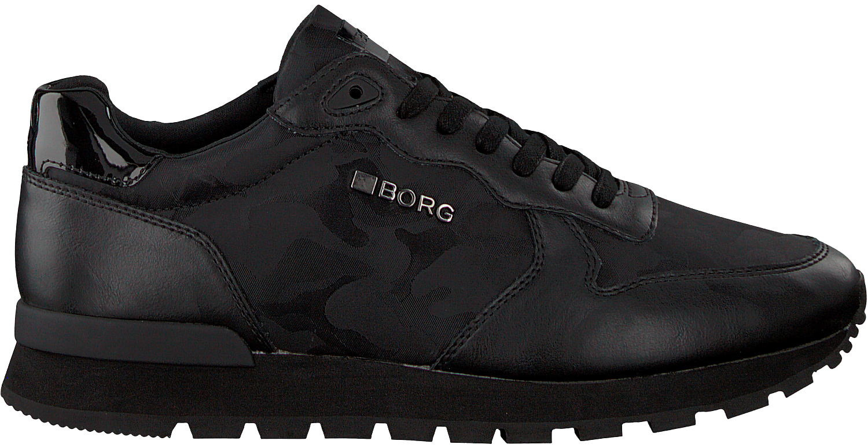 94f8e351766 Zwarte BJORN BORG Sneakers R600 CAMO BLACK - large. Next