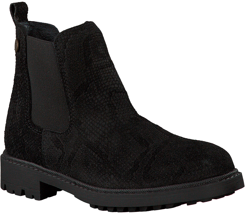 Zwarte MCGREGOR Lange laarzen BLAIR | Omoda