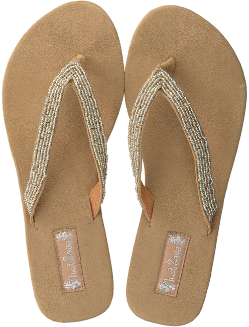 Beige HOT LAVA Sandalen SILK - large