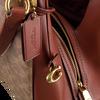 Cognac COACH Handtas DALTON 31  - small