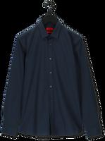 Donkerblauwe HUGO Klassiek overhemd ELISHA02 10224742 01