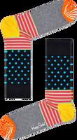 Blauwe HAPPY SOCKS Sokken STRIPES & DOT - medium