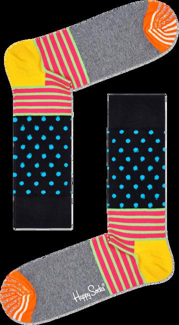 Blauwe HAPPY SOCKS Sokken STRIPES & DOT - large