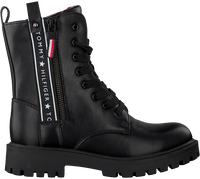 Zwarte TOMMY HILFIGER Veterboots 30851  - medium
