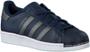 Blauwe ADIDAS Sneakers SUPERSTAR J  - small