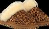 Beige WARMBAT Pantoffels FLURRY WOMEN SUEDE  - small