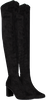 Zwarte RAPISARDI Overknee laarzen E1202  - small