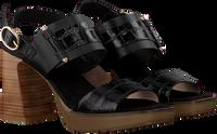 Zwarte HISPANITAS Sandalen HV00056 PETRA  - medium