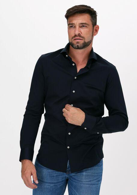 Donkerblauwe PROFUOMO Casual overhemd HUX  - large