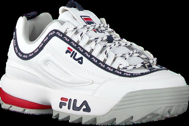 Witte FILA Lage sneakers DISRUPTOR KIDS  - large