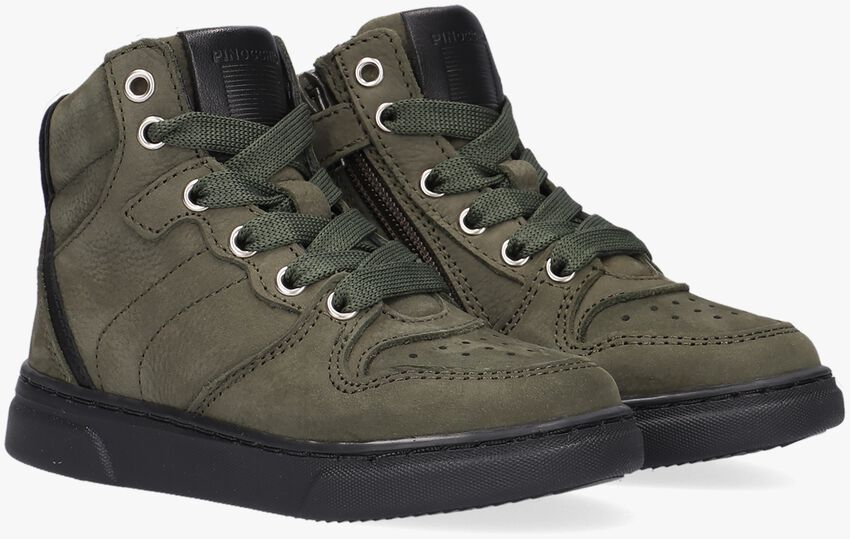 Groene PINOCCHIO Hoge sneaker P1737  - larger