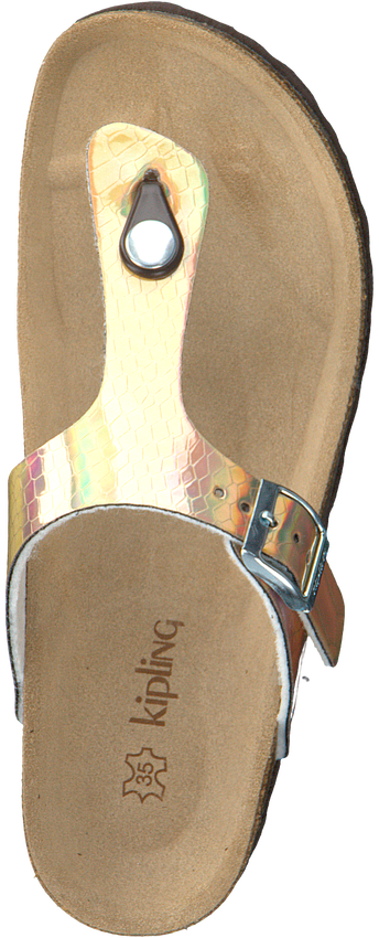 Gouden KIPLING Slippers MARIA 3 CRY  - larger