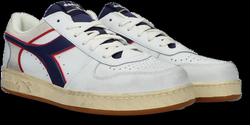 Witte DIADORA Lage sneakers MAGIC BASKET LOW ICONA  - larger