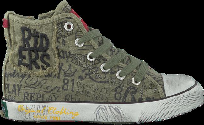 Groene REPLAY Sneakers KING GEORGE  - large