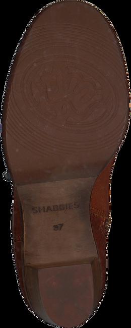 Cognac SHABBIES Enkellaarsjes 183020153 SHS0427  - large