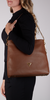 Cognac GUESS Handtas DESTINY HOBO  - small