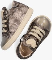 Beige BEBERLIS Hoge sneaker 22057  - medium