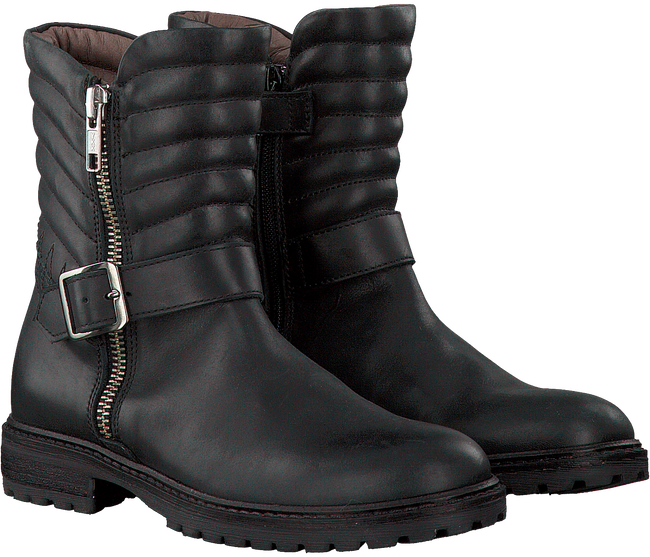 Zwarte RED RAG Lange laarzen 15568  - large