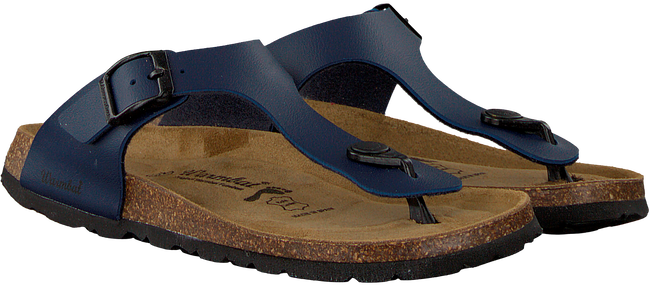 blauwe WARMBAT Slippers SCHLOBBERG BIO CHAMPION BF  - large