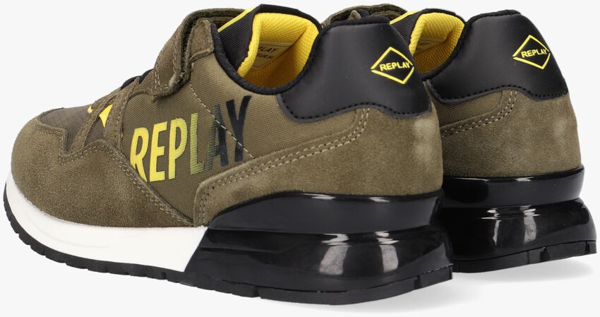 Groene REPLAY Lage sneakers COULBY  - larger