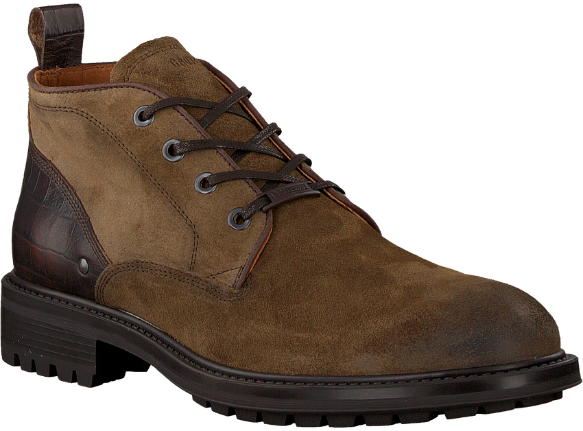 Taupe GROTESQUE Veterboots TRIPLEX 5  - larger