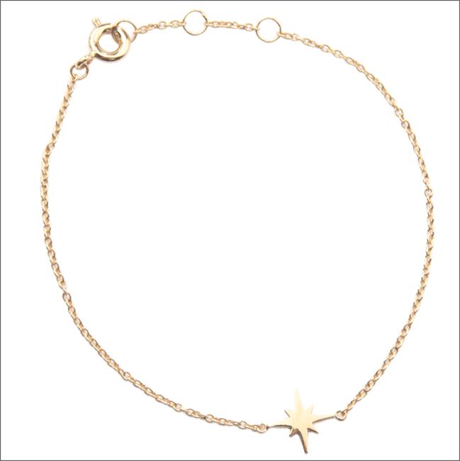 Gouden ALLTHELUCKINTHEWORLD Armband SOUVENIR BRACELET STAR BURST - large