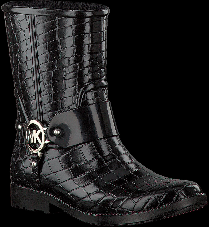 9e3af198542 Zwarte MICHAEL KORS Lange laarzen MK CROCO RAINBOOTIE - large. Next