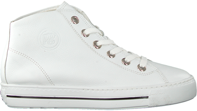 Witte PAUL GREEN Hoge sneaker 4735 - large