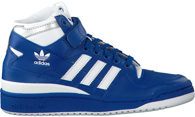 Blauwe ADIDAS Sneakers FORUM MID J  - large