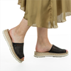 Zwarte SHABBIES Slippers 152020047 - small