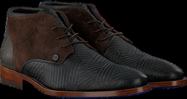 Zwarte REHAB Nette schoenen SALVADOR ZIG ZAG  - large