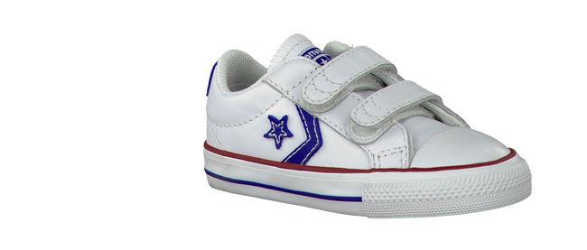 Witte CONVERSE Sneakers STAR PLAYER OX KIDS  - large