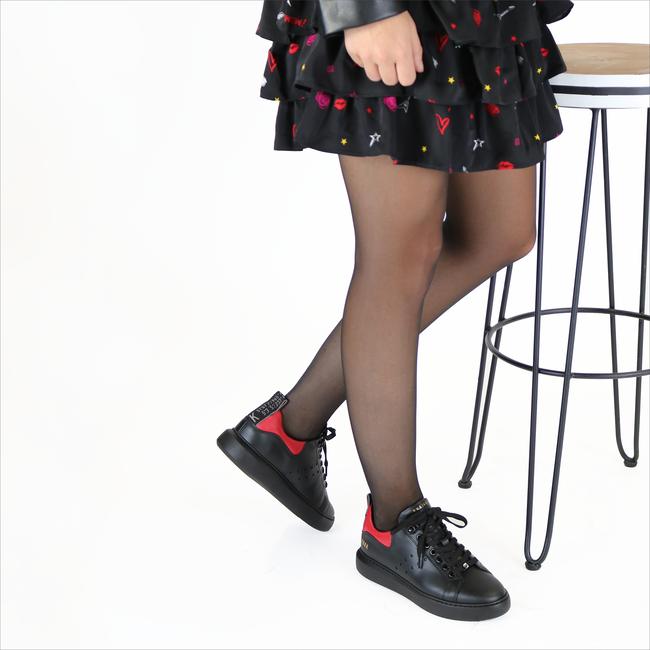 Zwarte NUBIKK Sneakers ROX PHANTOM - large