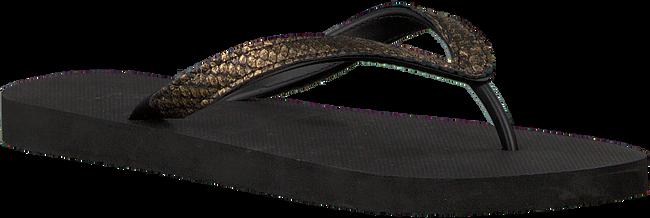 Zwarte UZURII Slippers PYTHON - large