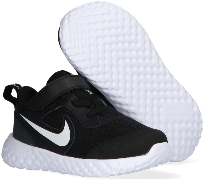 Zwarte NIKE Lage sneakers REVOLUTION 5 (TDV)  - large