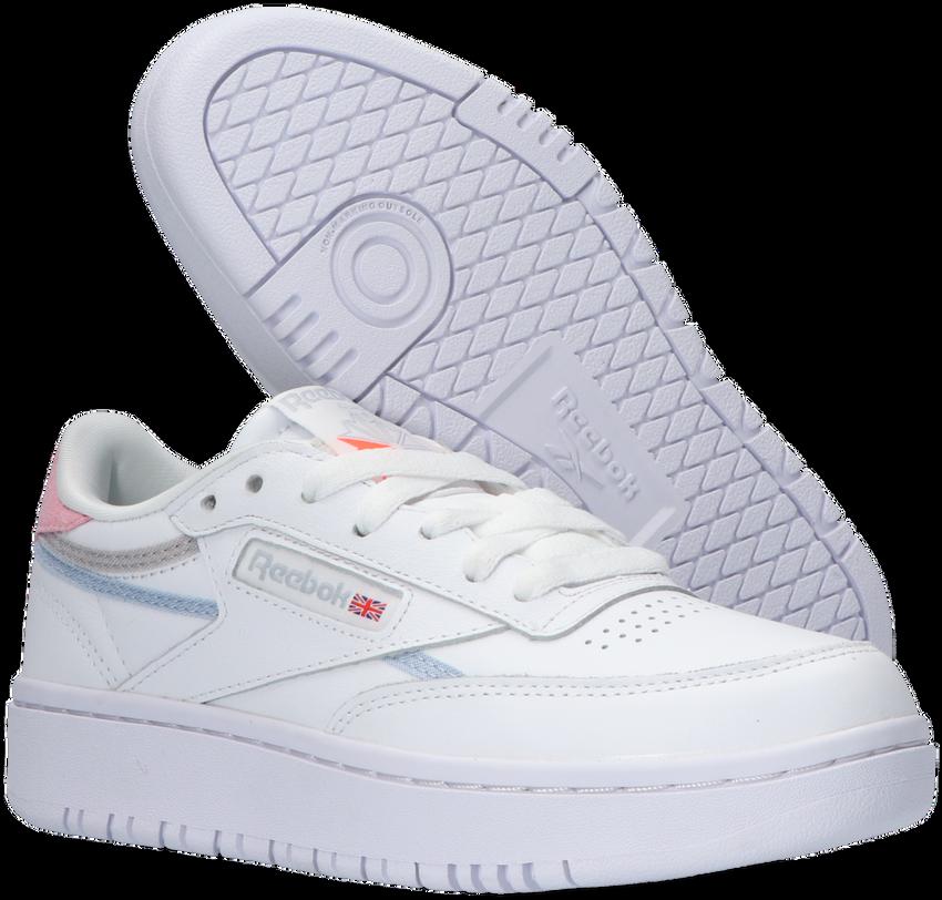 Witte REEBOK Lage sneakers CLUB C DOUBLE WMN  - larger