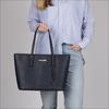 Blauwe MICHAEL KORS Shopper T Z TOTE - small