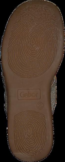 Zilveren GABOR Slippers 703 - large