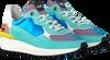 Blauwe FLORIS VAN BOMMEL Lage sneakers 85307  - small