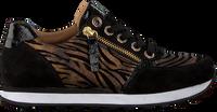 Zwarte GABOR Lage sneakers 035  - medium