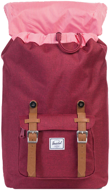 Rode HERSCHEL Rugtas LITTLE AMERICA - large