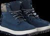Blauwe TIMBERLAND Sneakers DAVIS SQUARE 6 INCH KIDS - small