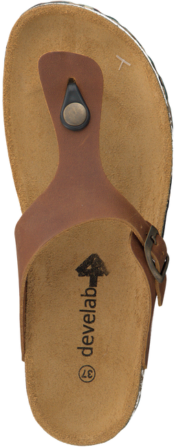 Cognac DEVELAB Slippers 48079  - large