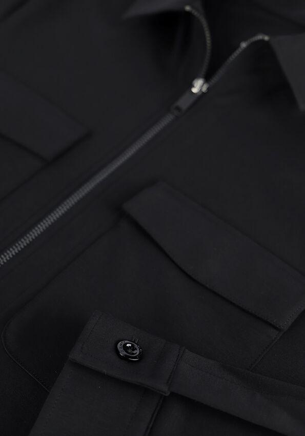 Zwarte GENTI Overshirt S4127-1967 - larger